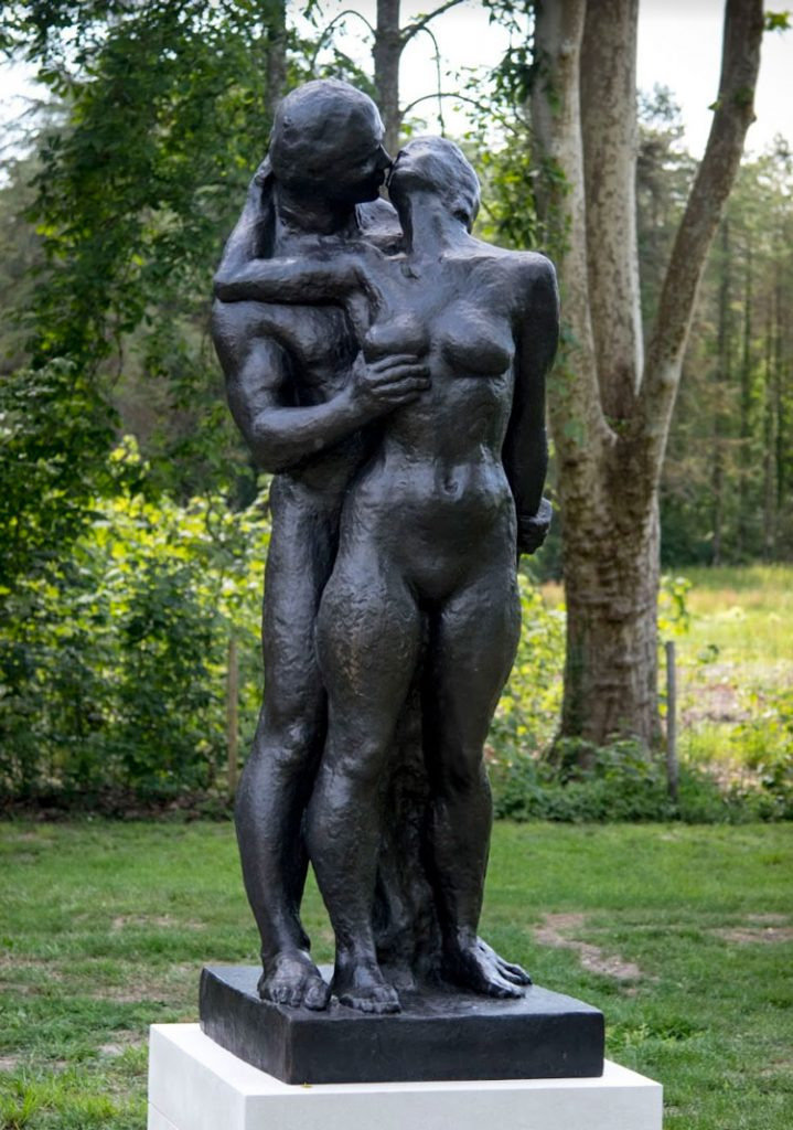 "Dawn, 1975 Bronze edition, nb. 1/8 Sand cast bronze by Pettersson Konstgjuteri Signed ""Gudmar"" H. 240 cm"