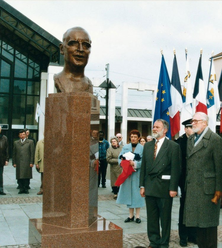 French President Georges Pompidou, Poissy - France