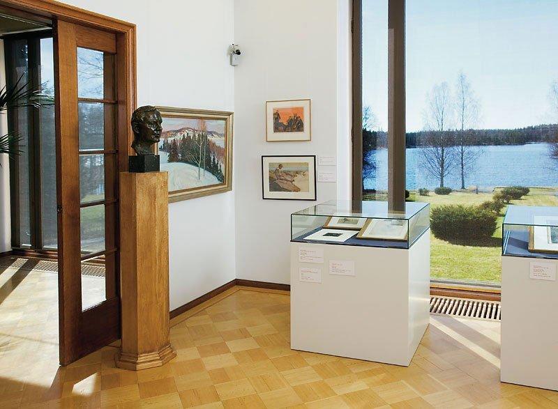 orträtt av Bergsrådet Gustaf F. Serlachius (1994), Serlchius Muséet, Mänttä - Finland