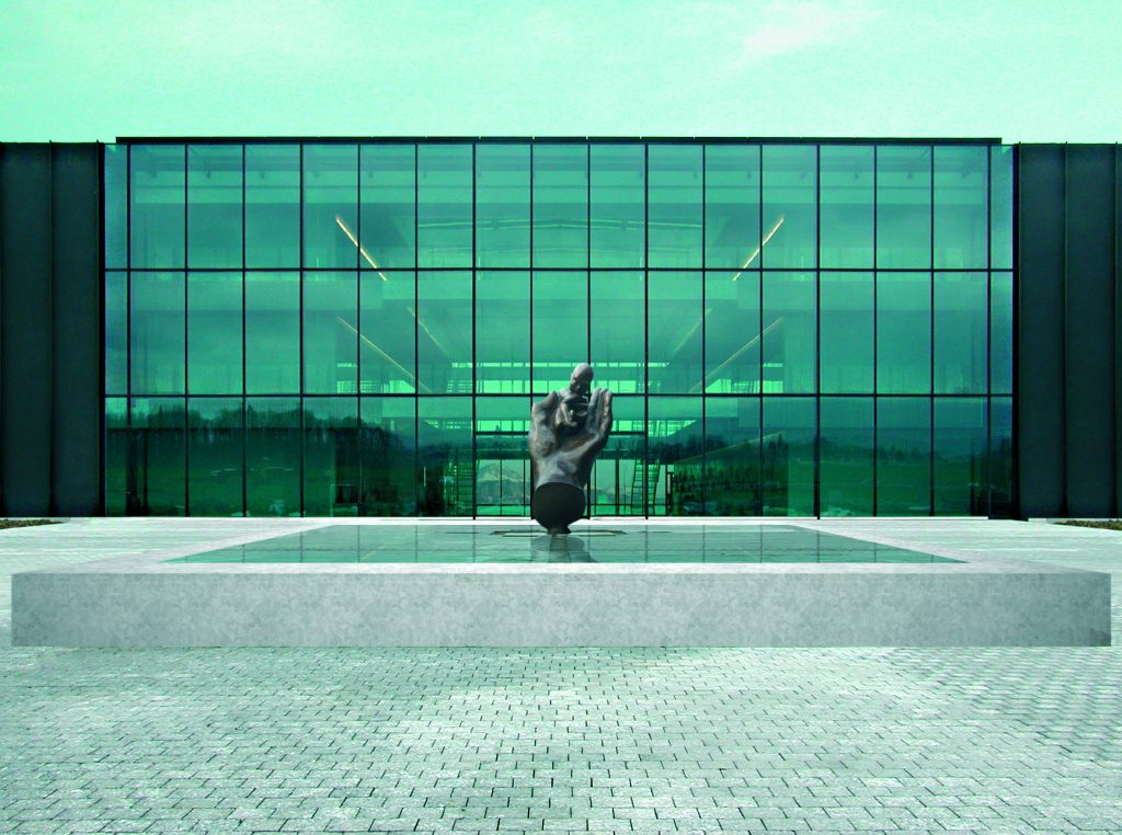 Prelude - H. 340 cm, bronze (Ferring Pharmaceuticals, Saint-Prex, Switzerland)